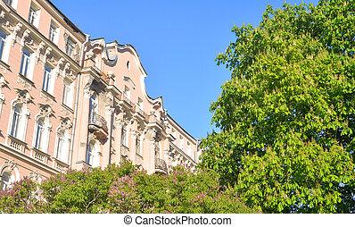 Old building in center of St.Petersburg.