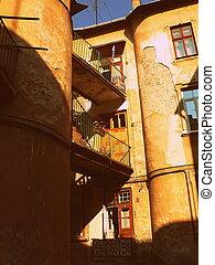 Old building in Lviv