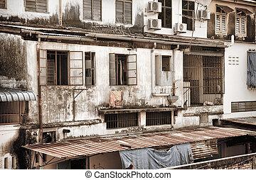 old building in penang
