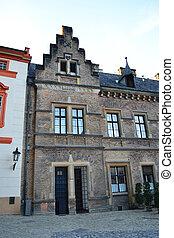 Old building in Prague Castle