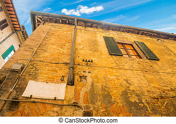 old building in Siena