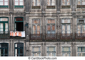 old building in the city of Porto