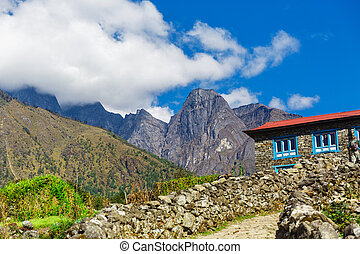 Old building in the mountains
