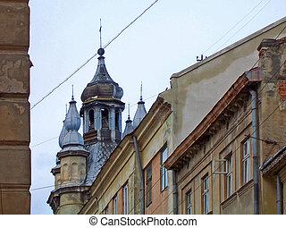 Old building of Lvov