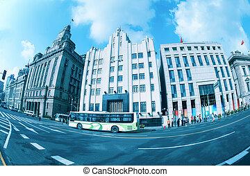 old buildings in shanghai