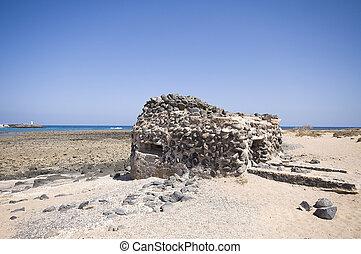 Old bunker on Fuerteventura