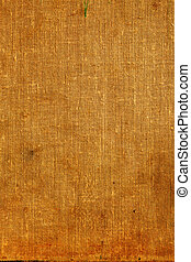 Old burlap canvas - Full screen high resolution shot of ...