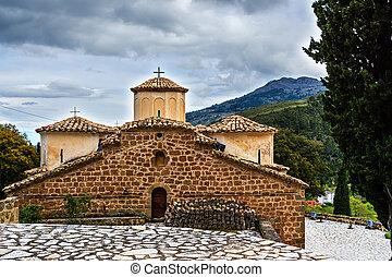 Old Byzantine Church at Greece