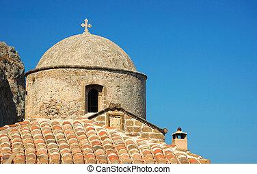old byzantine church at Monemvasia