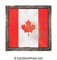 Old Canada flag