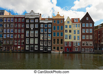 old canal of Amsterdam