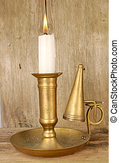 Old candle