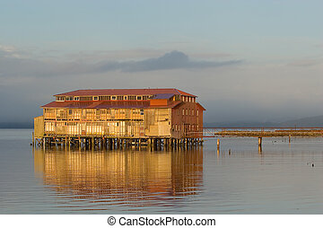 Old Cannery Building, Astoria, Oregon 4 - Photo of an old...