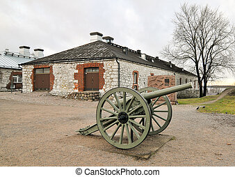 Old cannon a museum
