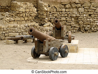 Old cannons in Quseir (Egypt)