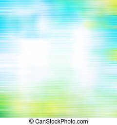 Old canvas: abstract textured sky-like background with blue, yellow, green, and white patterns. For art texture, grunge design, and vintage paper / border frame