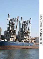 old cargo ship