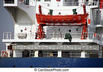 cargo ship detail