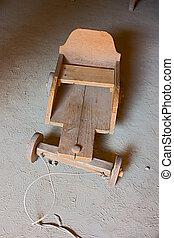 old cart for children