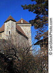 Old castle in Annecy, France