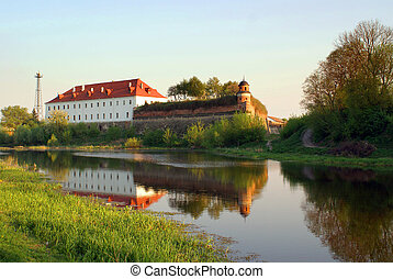 Old castle in Dubno