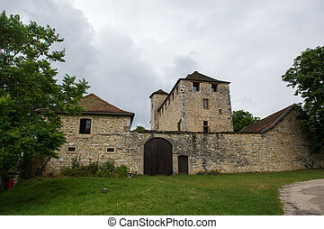 Old castle in France