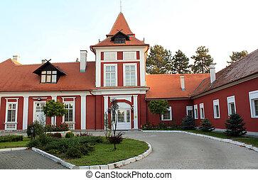 old castle in Serbia eastern Europe