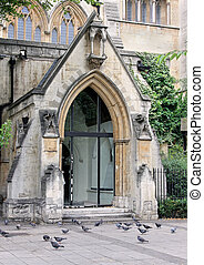 Old cathedral entrance