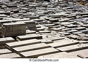 Old cemetery in Jerusalem