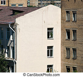 Old center of Moscow city view. Russia.