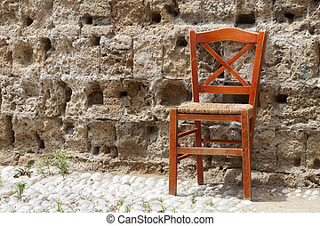 Old chair from Greece