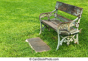 Chair on Green Grass