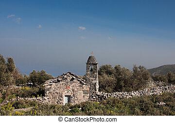 Old chapel close to Lakonia
