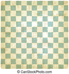 old checkered background