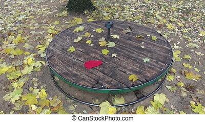 old children playground equipment
