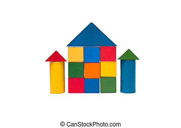 old children's building blocks