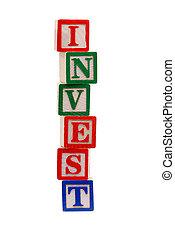Building Blocks - Old Children's Building Blocks, Spelling ...
