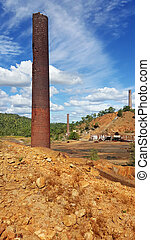 old Chillago smelter 1