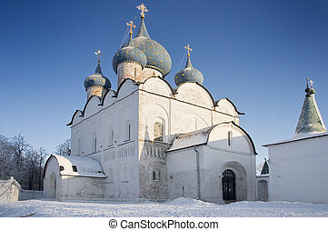 Old church and Cathedral of the Nativity in Suzdal