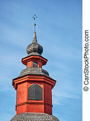 Old church bell tower