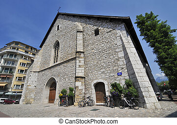 Old church in Annecy