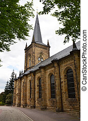 Old church in Bad Nenndorf, Germany