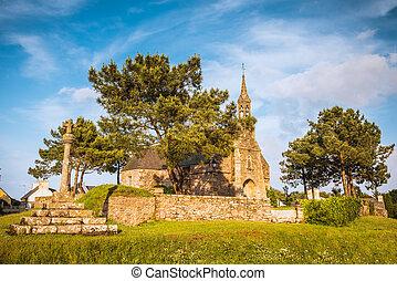 Old church in Bretagne, France