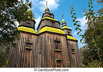 old church in forest
