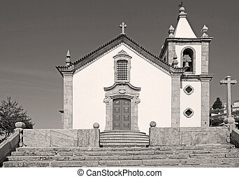 Old Church In Gouveia, Portugal