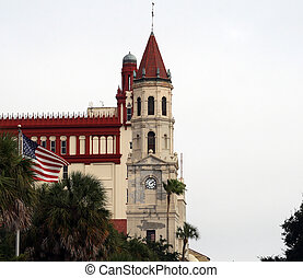 Old church in historic St Augustine