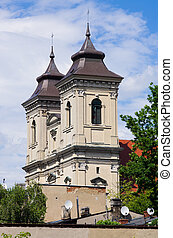 Old church in Leszno, Poland