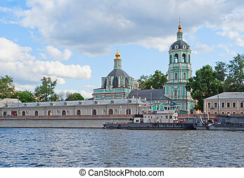 Old church in Moscow