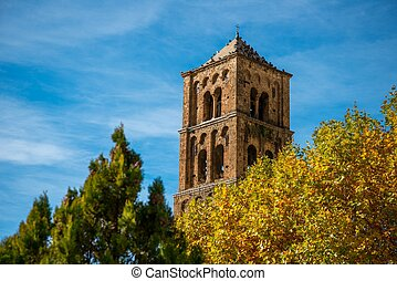 Old church in Moustiers-Sainte-Mar