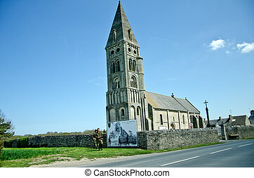 Old church in Normandy, France